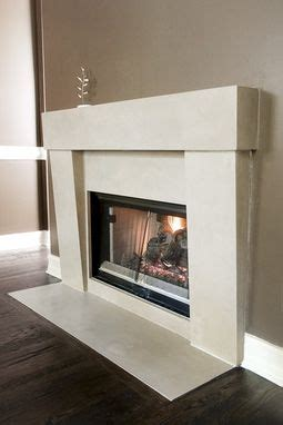 Handmade Custom Concrete Fireplace Surrounds by Turning