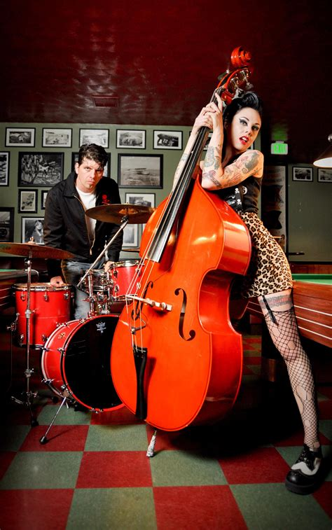 For nomadic rockabilly duo 'home is where we park it