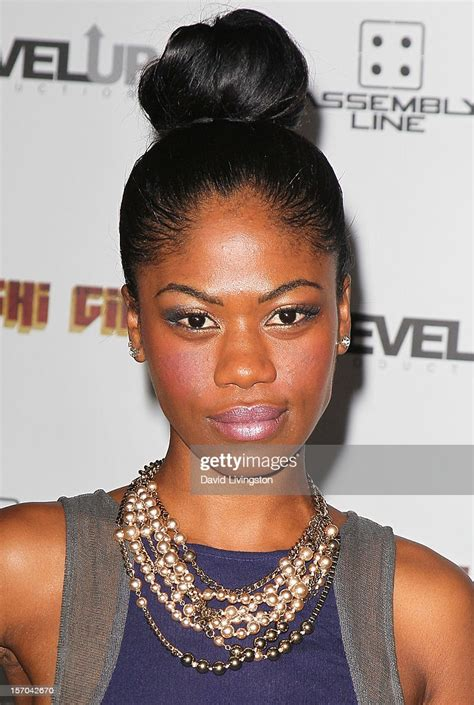 """Actress Vanessa Lee Chester attends the premiere of """"Sushi"""