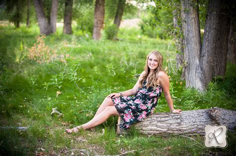 Carley   Senior Pictures with professional hair and make
