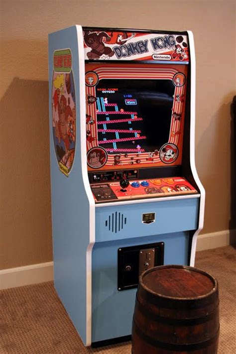Mini Donkey Kong Arcade Cabinet Machine with Hyperspin