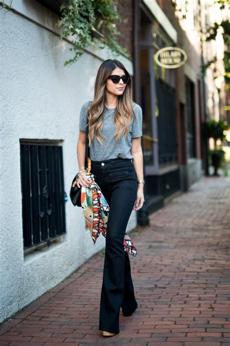30 Classic And Amazing Flared Jeans Outfits – The WoW Style
