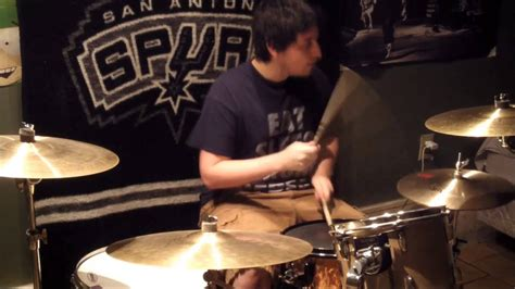 Rusty Cage By Soundgarden DRUM COVER - YouTube