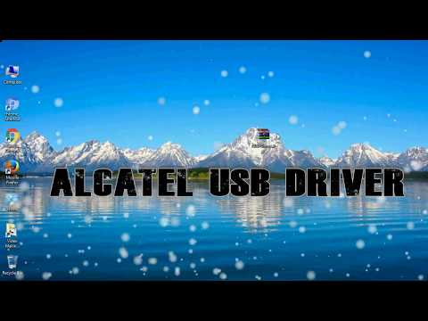 Alcatel One Touch Pixi 3 4013K USB Drivers How to Install