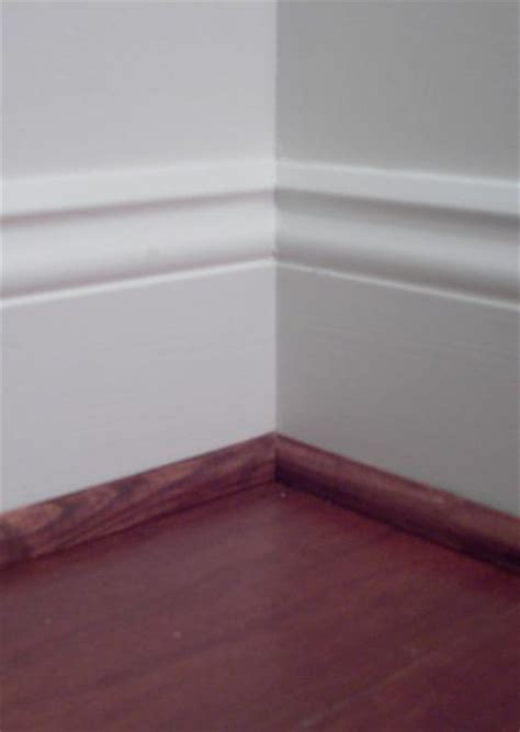 Shoe Molding: Which do you like -- painted or stained (see