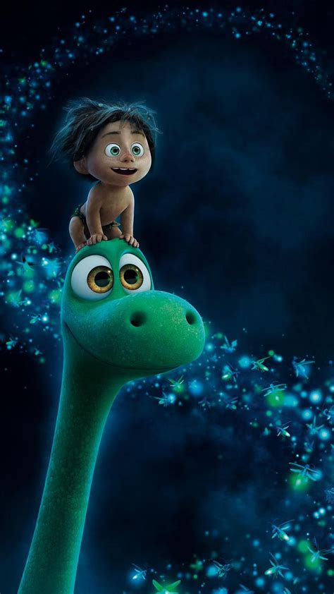 The Good Dinosaur: Downloadable Wallpaper for iOS