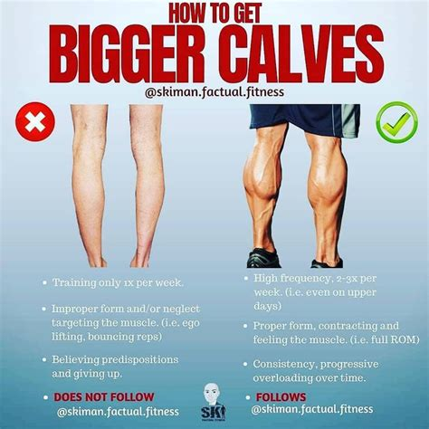 HOW TO GET BIGGER CALVES WORKOUT EXERCISES YOUR BODY Plz