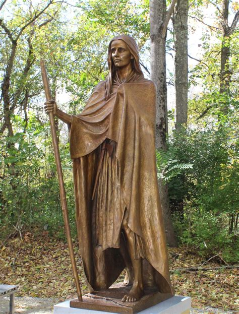 Statue of Mary Draper Ingles unveiled along New River