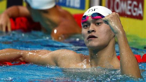 Controversial Chinese swimmer Sun Yang alleged to have